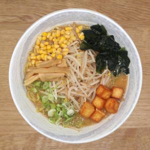 Picture of the vegetarian miso ramen